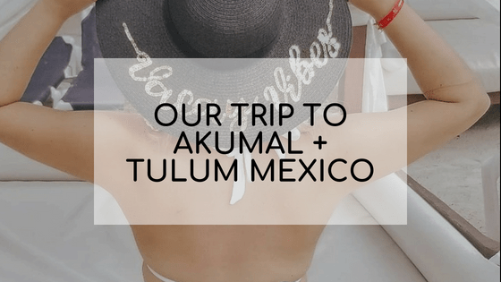 Our Vacation to Akumal and Tulum Mexico