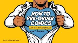 how to pre-order comics, theblerdgurl