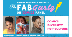theblerdgurl, regine sawyer, heroes and comics,
