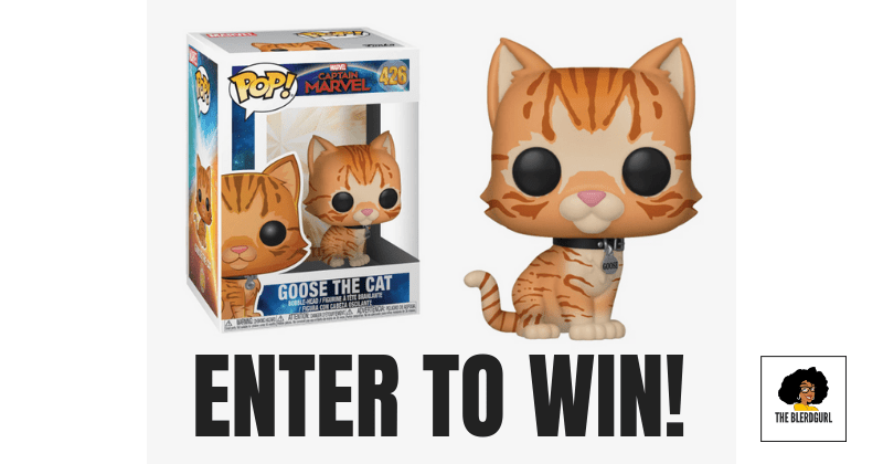 theblerdgurl funk pop goose the cat giveaway