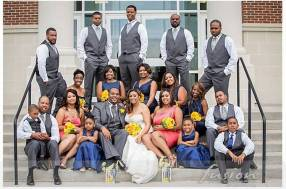 The Bennett-Wilson Wedding Party | Photography by Fusion Photography