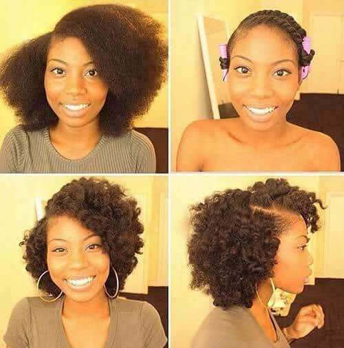 19 Stunning Quick Hairstyles For Short Natural African American