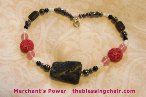 Power/Healing Necklace by theblessingchair.com