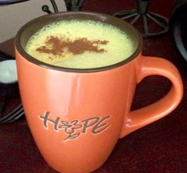 Turmeric Latte (recipe below)