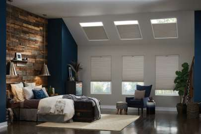 Cellular Shades Skylight