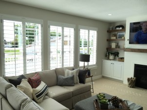 shutter family room bright