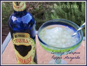 Corralejo Jalapeno Popper Margarita