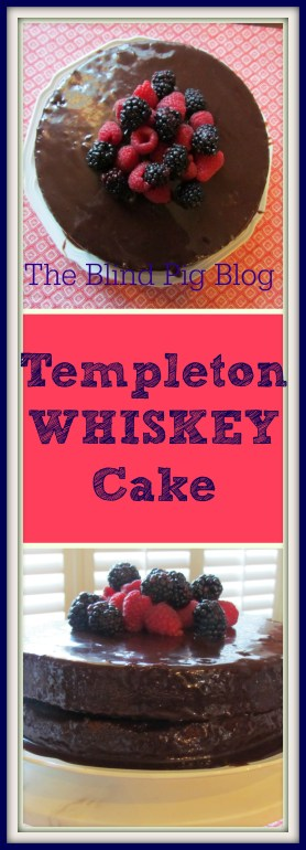 Templeton Whiskey Cake