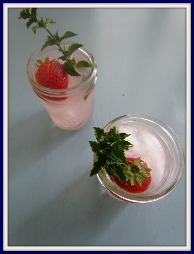 Grown Up Berry Lemonade