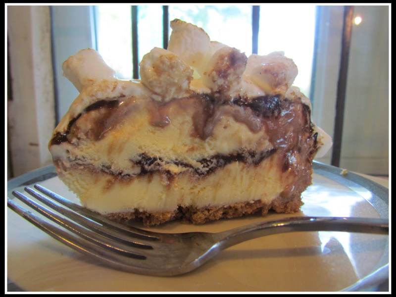 S'more Ice Cream Cake