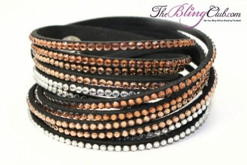 the-bling-club-12-row-brown-ombre-multi-swarovski-crystal-vegan-leather-wrap-bracelet
