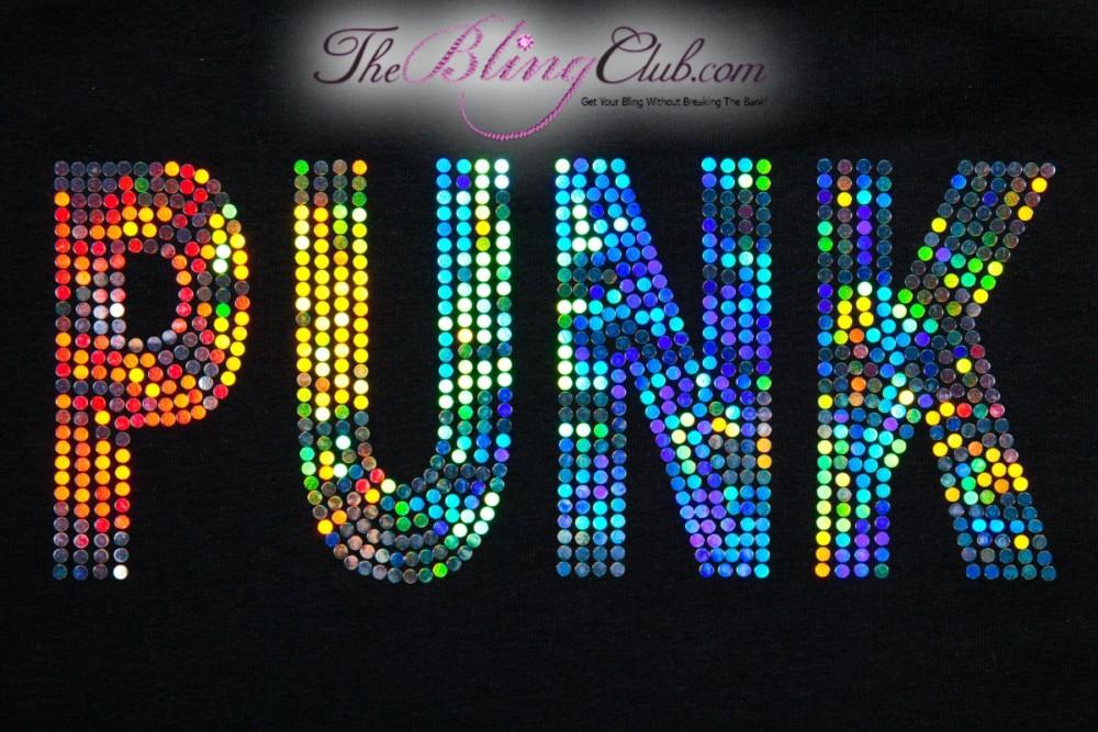 theblingclub.com punk holograph racerback tank