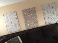 Fabric Wall Panels | theblingyblonde.com