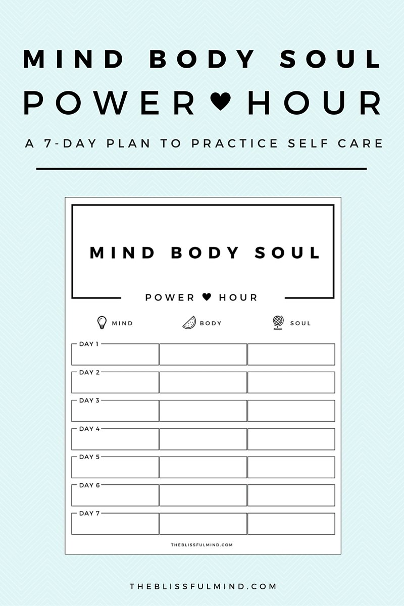 How To Get Better At Self Care Using The Power Hour Method