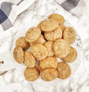 Snickerdoodles without cream of tartar www.theblissofthis.com Epicure Blog