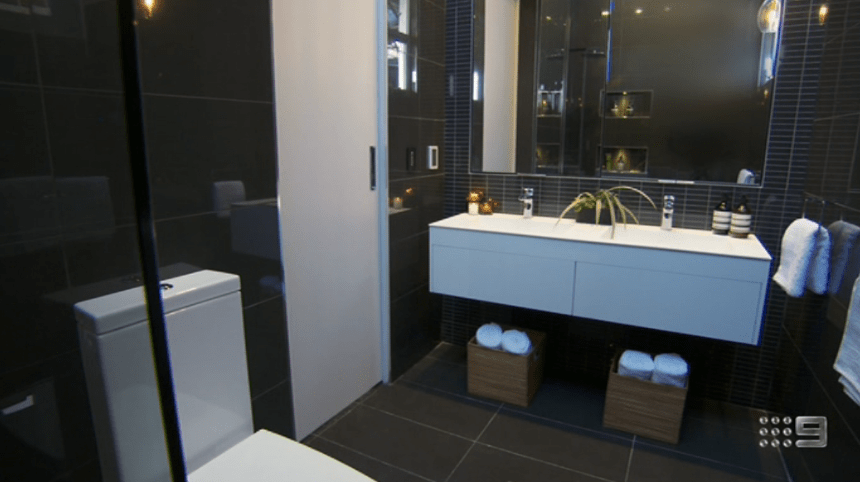 The Block Glasshouse  Ensuite Bathroom Reveals The Block 2018