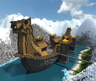 Featured Pictures: Cool Minecraft Creations