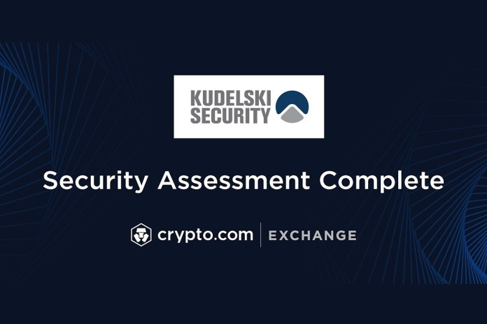 Kudelski Security Completes Security Assessment of Crypto.com Exchange