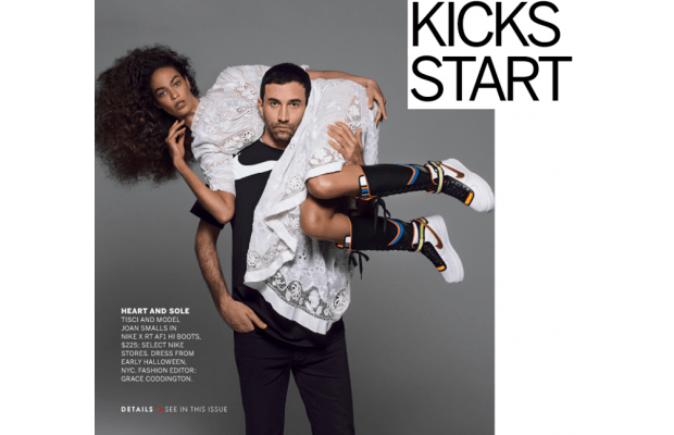 Riccardo Tisci x Nike Joan Smalls