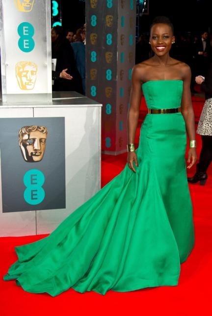 2014 BAFTAs - Lupita Nyong'o