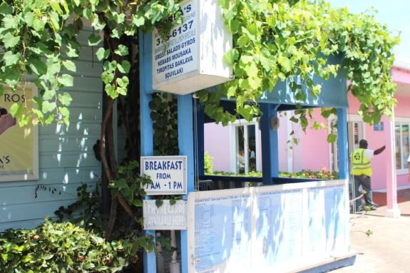 greek restaurant, bahamas, greek