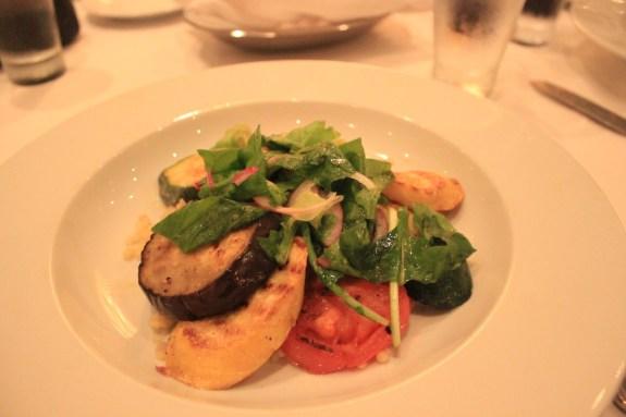 cruise food, couscous, mediterranean food, eggplant, food blog, food blogger