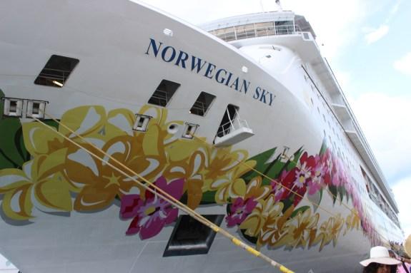 cruise ship, norwegian sky, NCL, bahamas cruise, nassau