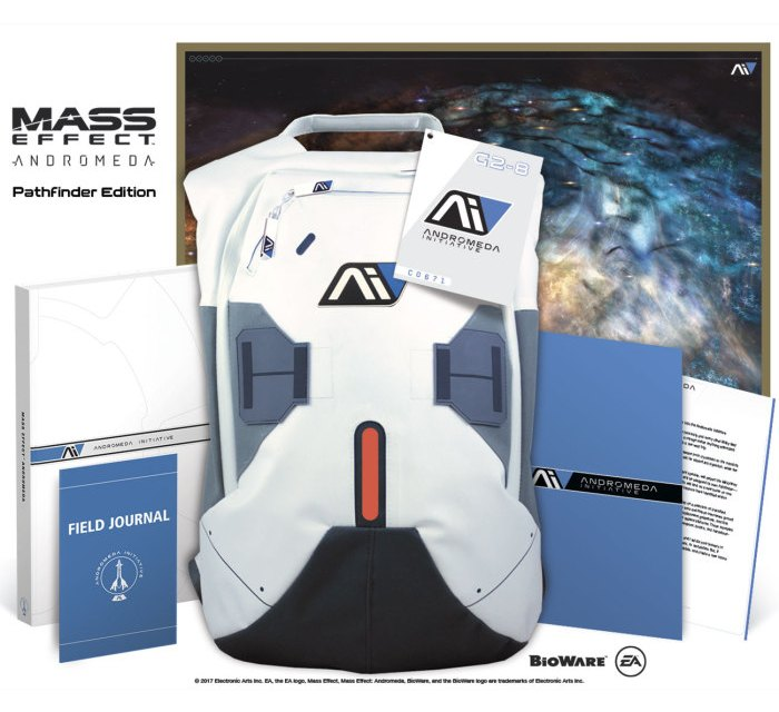 Unboxing the Prima Mass Effect: Andromeda Pathfinder edition guide