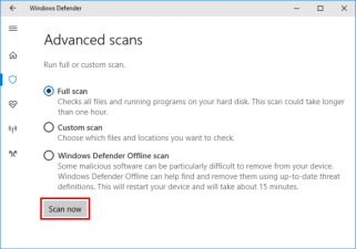 Solution No 8 - Perform a Full Malware Scan (2)
