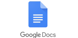 Google Docs image from 1000logos.net. Google docs is better than microsoft office.