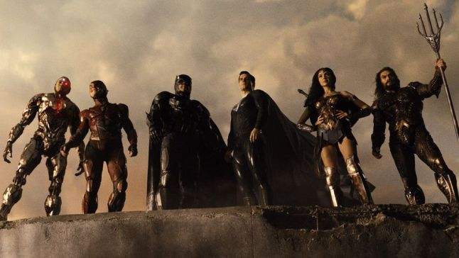 The Justice League representing Team Earth