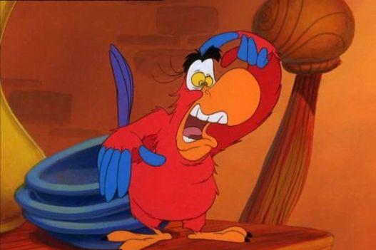 Iago is the true hero of Aladdin