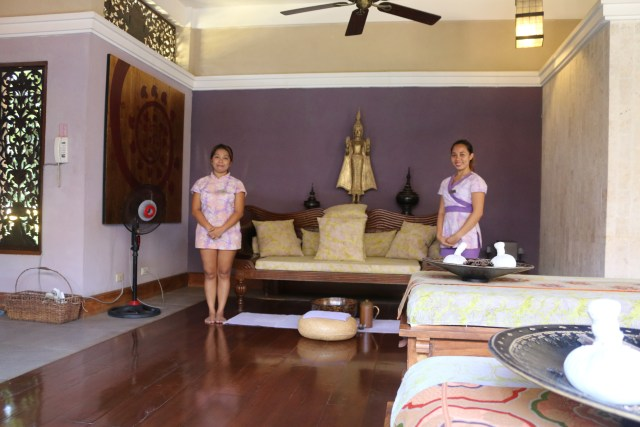 Lady and April from Tirta Spa Boracay