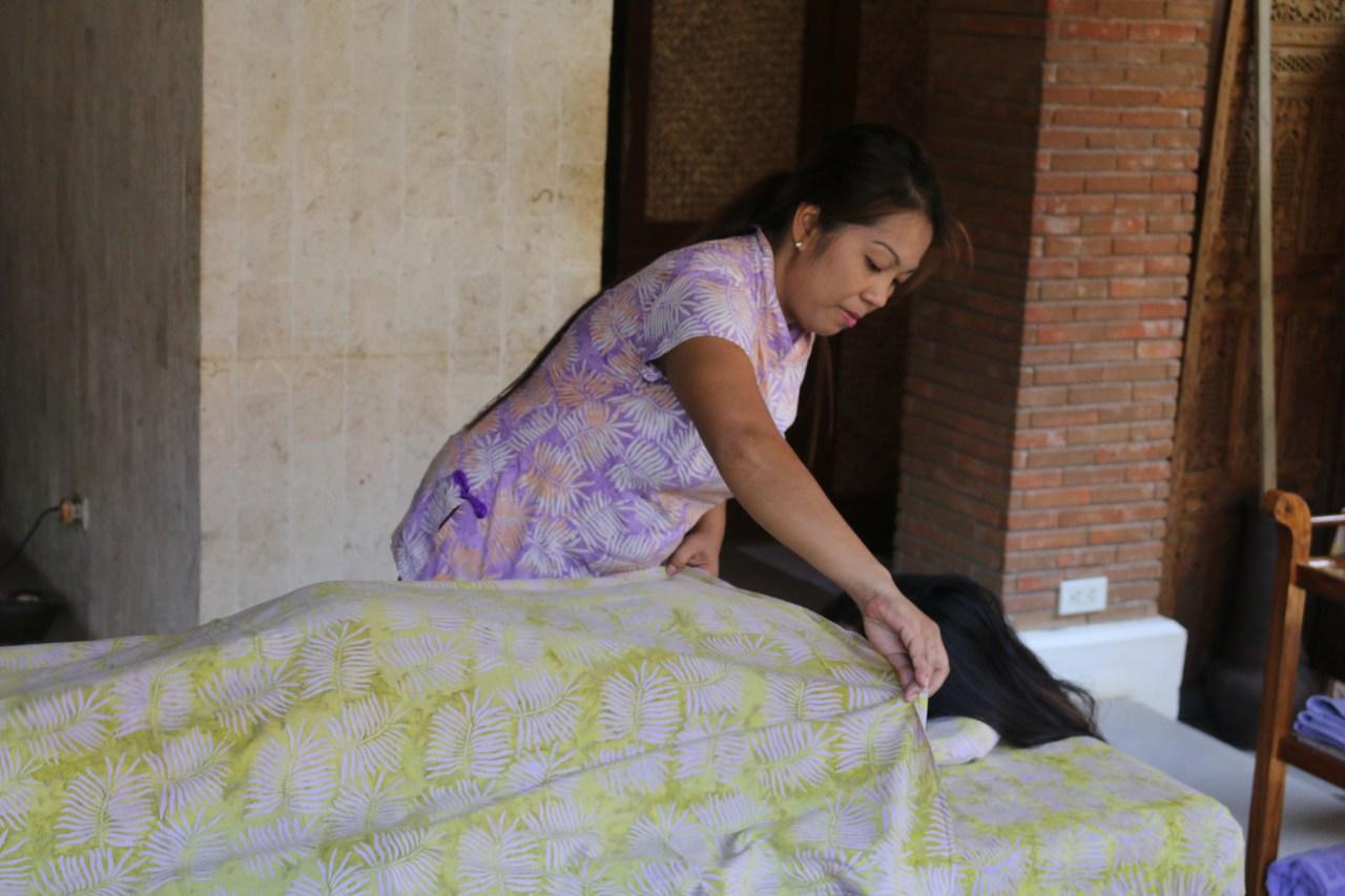 treatment preparation at Tirta Spa Boracay