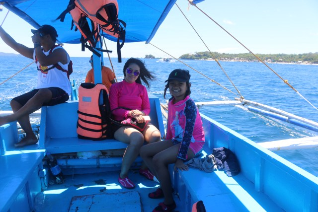 in the boat 1