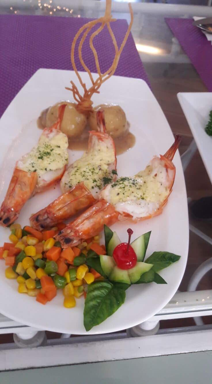 Baked Prawns at Sage Cafe Baguio