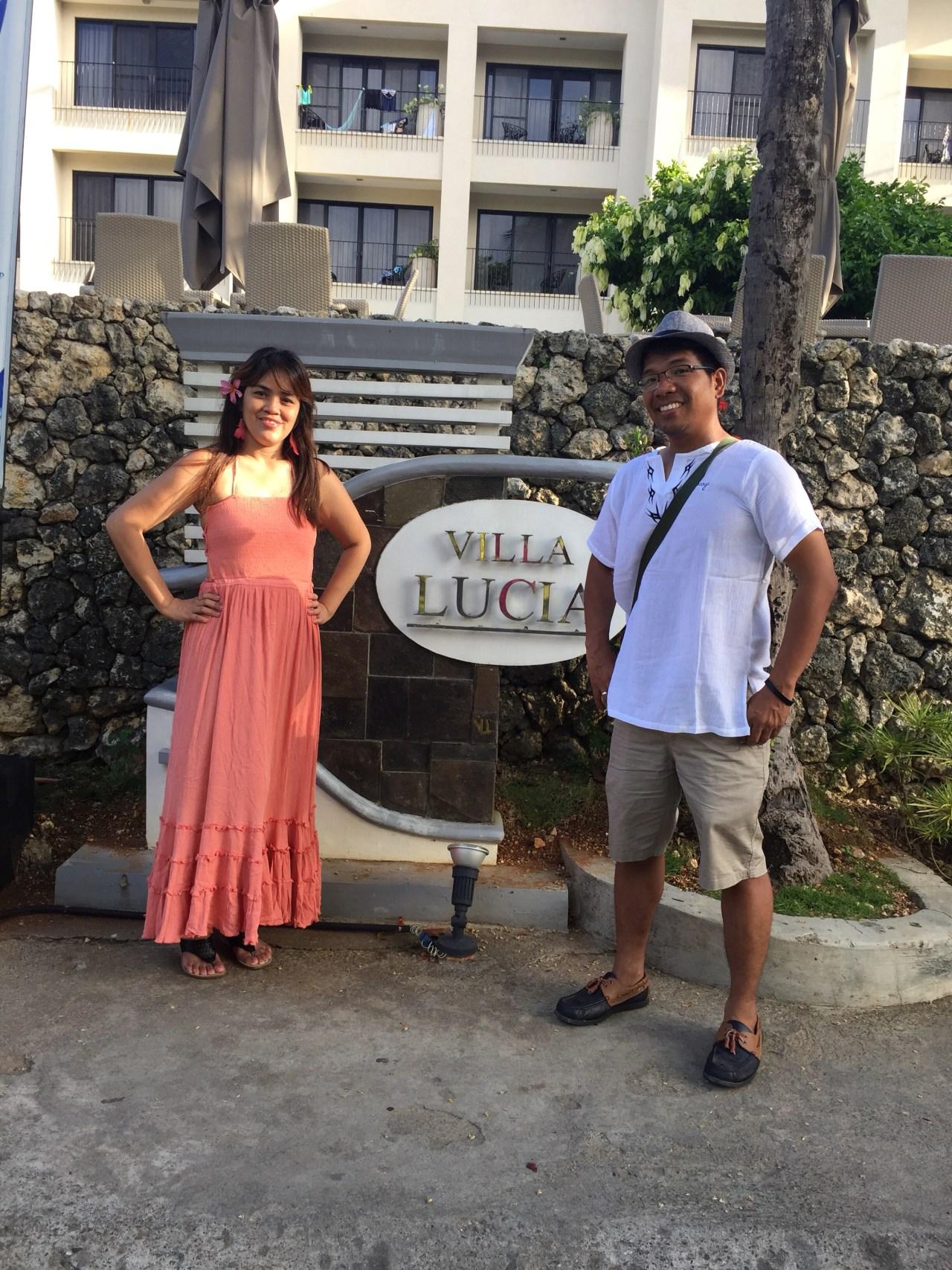 Villa lucia sign