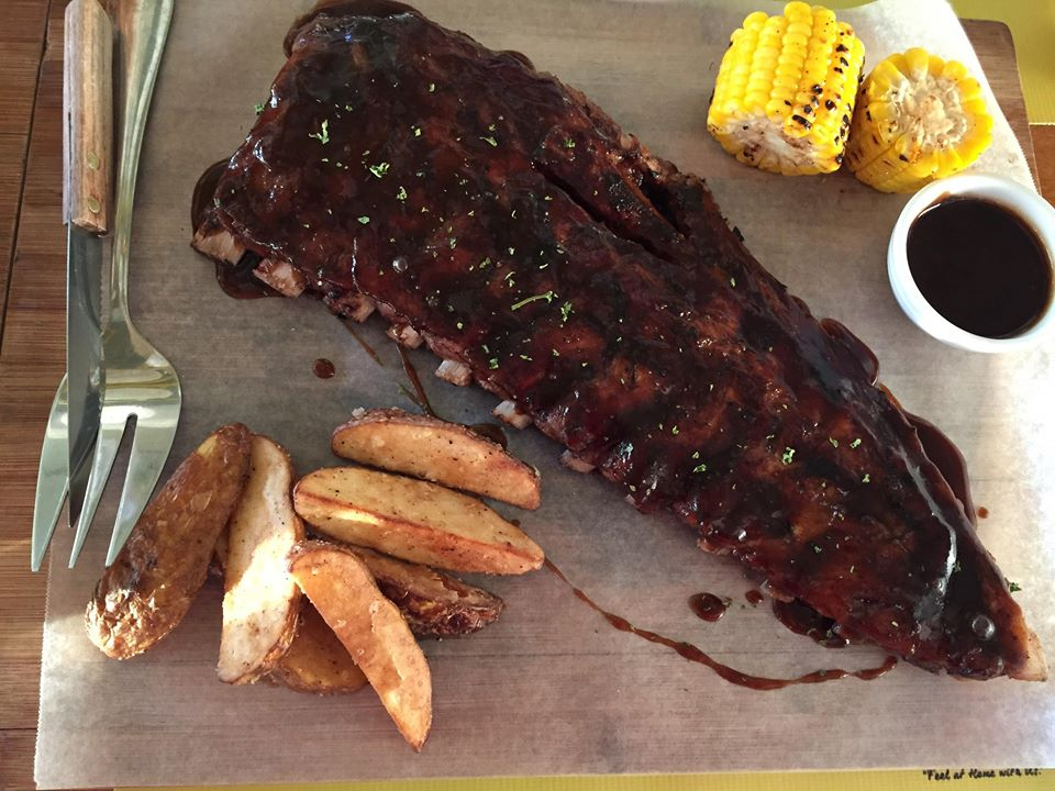 American BBQ Ribs at Yellow Lantern Cafe Antipolo
