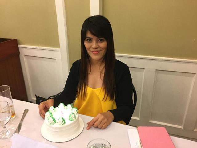 my Birthday Cake from Comida China de Manila
