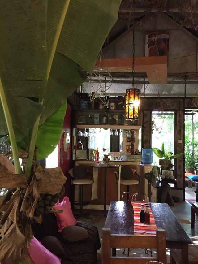 inside seating area at Park Rest & Dine Restaurant