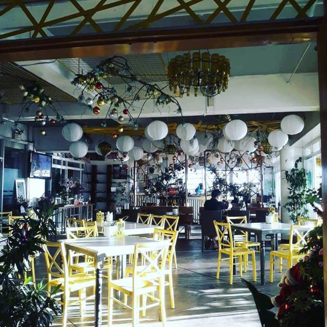tables at Yellow Lantern Antipolo