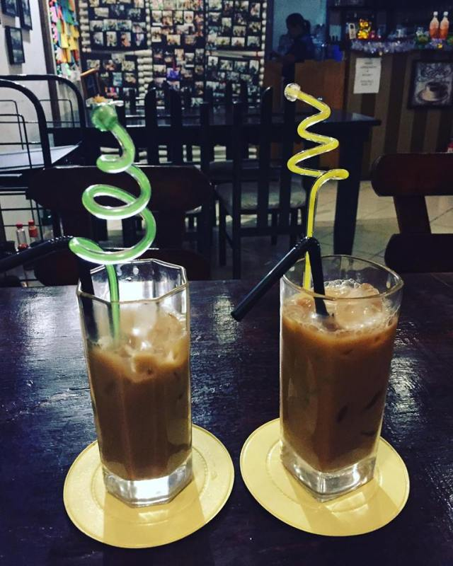 iced coffee from Ban Be ca Phe Antipolo