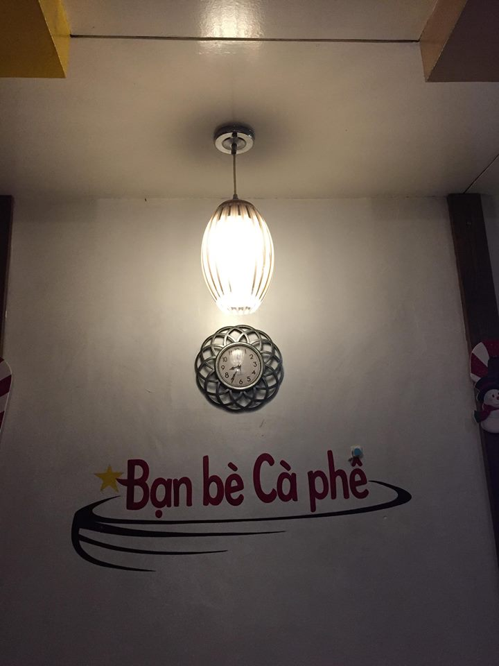 The Ban Be Ca Phe logo in our press trip to Ban Be Ca Phe Antipolo