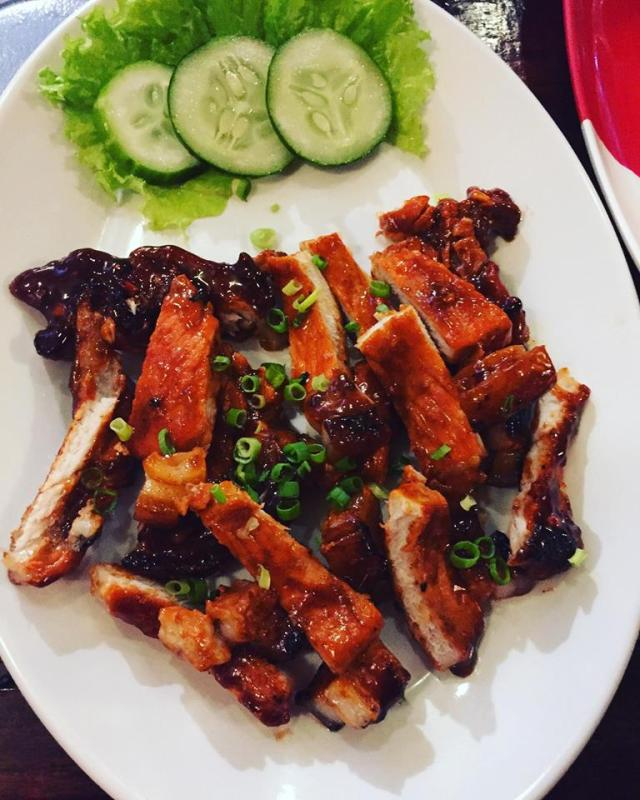 viet grilled pork from ban Be Ca Phe Antipolo