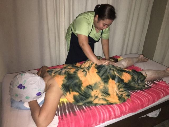 body scrub treatment at Nexus 1 Body Spa Xentro Mall