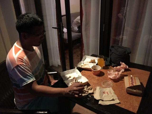 dinner at the Alta Vista Veranda in our Boracay 2019 vacation
