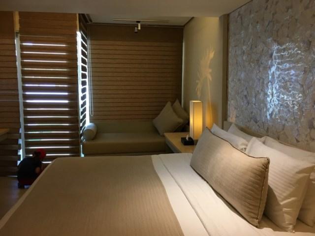 Our poolside room at Estacio Uno Boracay