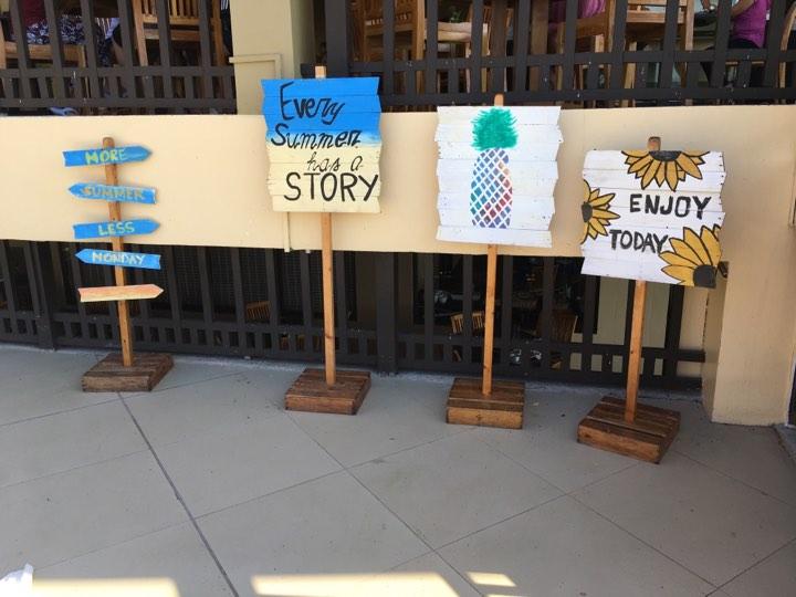 every summer has a story sign at Alta Vista de Boracay in our Boracay 2019 vacation