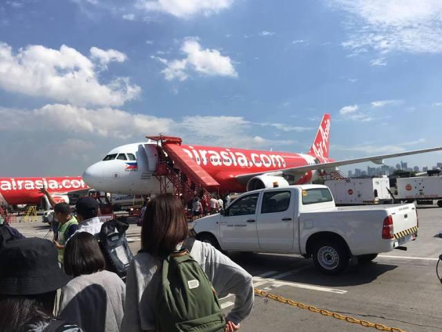 Our Airasia plane to Boracay