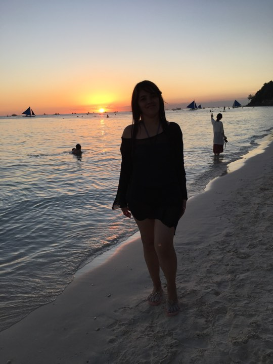 sunset during our Boracay 2019 Day 2 vacation